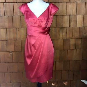 Kay Unger NY pink cocktail dress size 6